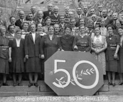 JG 1899/1900 50-Jahrfeier Kommunion 1950