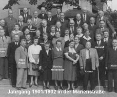 JG 1901/02 in der Marienstrasse