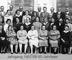 JG 1907 60-Jahrfeier mit Brunner Hans