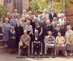 JG 1908/09 80er 1989