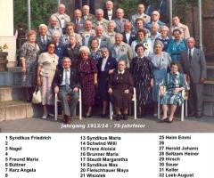 JG 1913/14 75-Jahrfeier Mai 1989