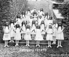 JG 1914/15 Theaterbild Alte Mädchenschule ca 1925