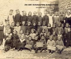 JG 1914 Einschulung 1914