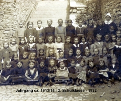 JG 1914 Schulbild 1922
