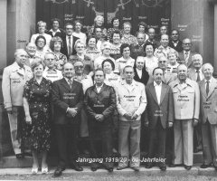 JG 1919/20 60-Jahrfeier 1980