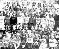 JG 1921/22 Mädchen 1933