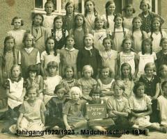 JG 1922/23 6. Klasse Mädchen 1934