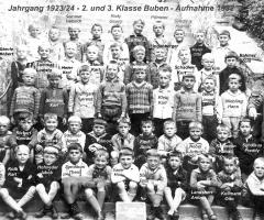 JG 1923/24 2. und 3. Klasse