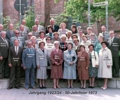 JG 1923/24 50-Jahrfeier 1973