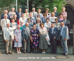 JG 1923/24 65-Jahrfeier 1989