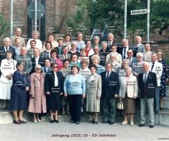 JG 1925/26 65-Jahrfeier