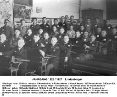 JG 1926/27 Lindenberger