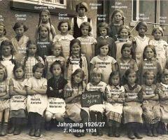 JG 1926/27 2. Klasse Mädchen