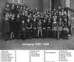 JG 1929/30 Mädchenschule
