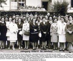 JG 1930/31 Mädchen 50-Jahrfeier