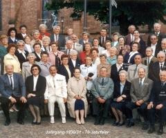 JG 1930/31 70-Jahrfeier 2001