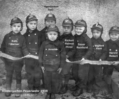 JG 1931/32 Kindergarten-Feürwehr 1938