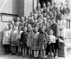 JG 1936/37 Mädchen Aufnahme 1950
