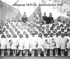 JG 1937/38 Kommunion Mädchen 1947