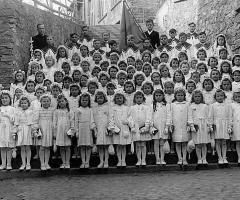 JG 1938/39 Kommunion Mädchen
