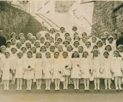 JG 1943/44 Kommunion Mädchen