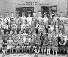 JG 1944/45 Kindergarten 1951