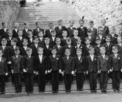 JG 1947/48 Kommunion Buben