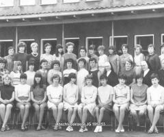 JG 1952/53 Mädchen Abschlussklasse