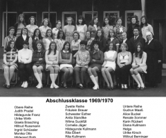 JG 1954/55 Mädchen Abschlussklasse