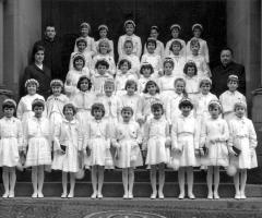 JG 1955/56 Kommunion Mädchen