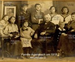 Amersbach Famile um 1918