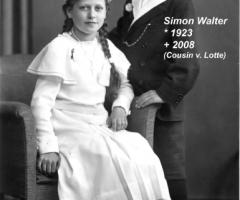 Amersbach Lotte u. Cousin Simon Walter