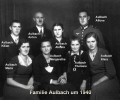 Aulbach Familienbild 1940