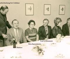 Büttner Karl Ehrung