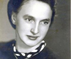Elbert Maria geb 1920 gest 1945 durch Minenexplosion
