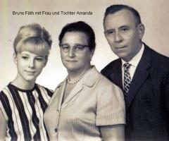 Fäth Bruno mit Frau und Tochter Amanda