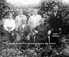 Büttner Josef Familie
