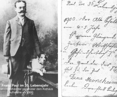 Franz Paul 35 Jahre alt 1900