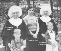 Hein Syndikus Schwestern Margit Rainer Maria Creszentia