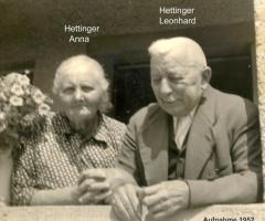 Hettinger Anna und Leonhard 1952
