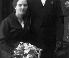 Hoffmann Anton Briefbote Ringstr 31 und Lenchen 1920
