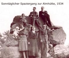 Keller Helmut und Rosa Spaziergang 1934