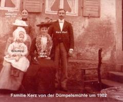 Kerz Familie Dümpelsmühle 1902