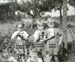 Kinder Weinbergst N Schadler 1956
