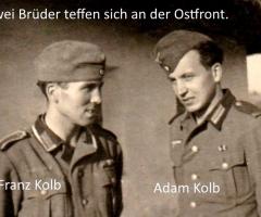Kolb Adam Franz Weltkrieg