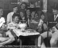 Rarpach Walter Faschingsfeier