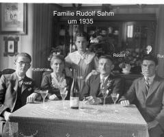 Sahm Rudolf mit Familie 1935