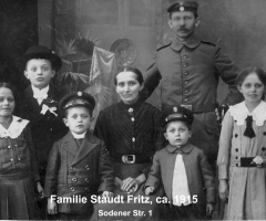 Staudt Fritz mit Familie Sodener Str 1