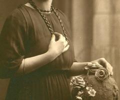 Straub Amalie um 1925 Weinbergstr 16