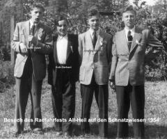 Suffel Adam, Kolb Gerhard, Jüngling Werner, Kolb Walter